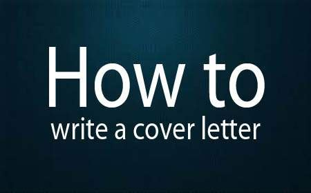 Cover letter and how to write